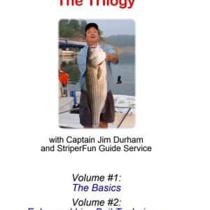 STRIPER FISHING DVDS